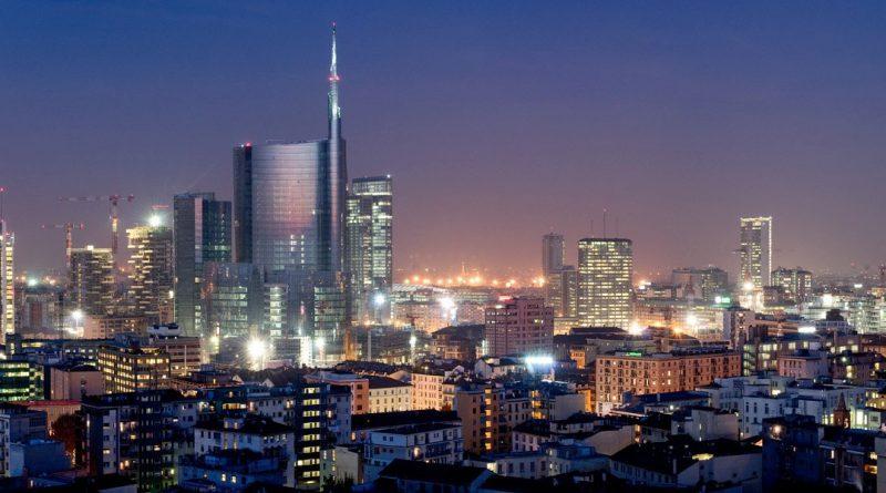 Skyline Milano Notte